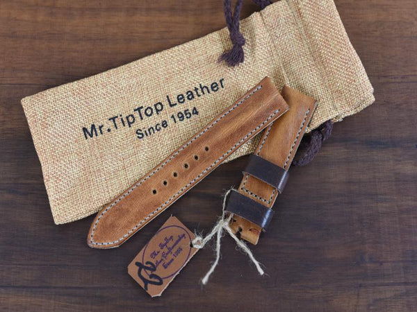 Mr. TipTop Straps Cognac 22mm MRT049