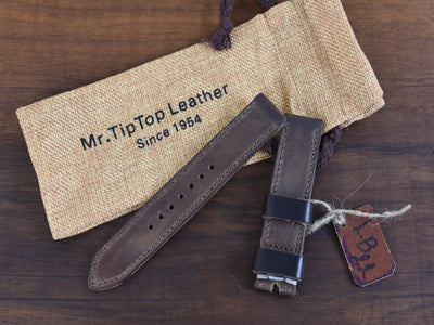 Mr. TipTop Straps Brown 22mm MRT056