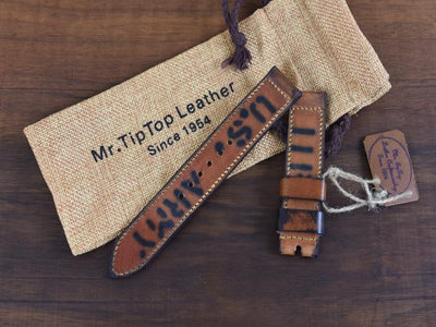 Mr. TipTop Straps Brown 22mm MRT063