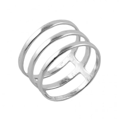 Barse Don't Fence Me In Ring-Sterling Silver