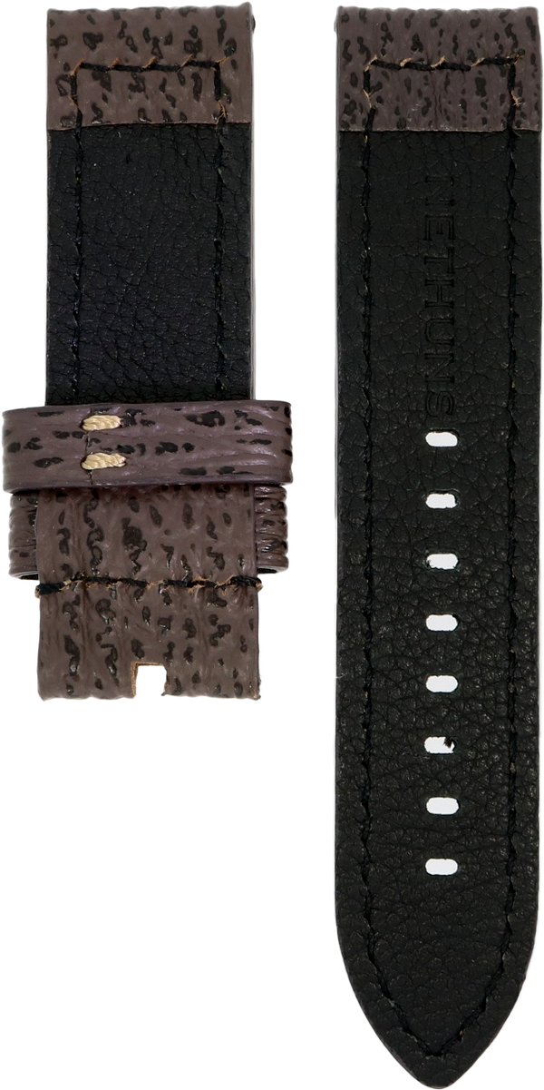 Nethuns 24mm Shark Leather Strap
