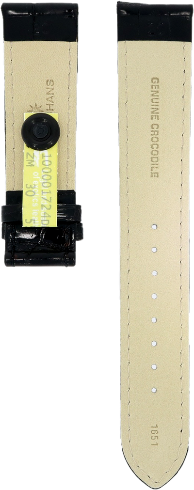 Junghans Crocodile Leather Strap 420504851