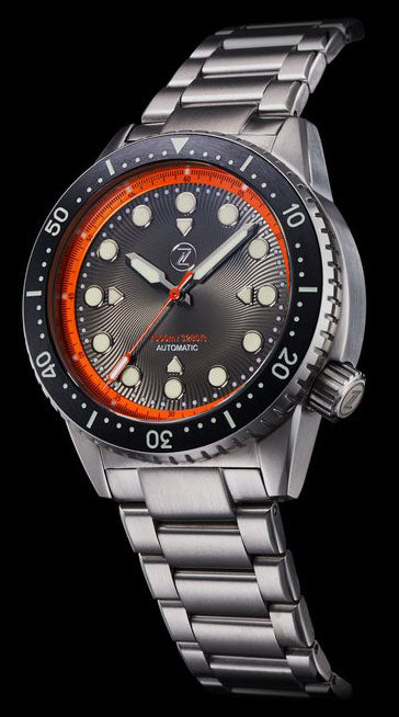 Zelos Great White Steel Orange