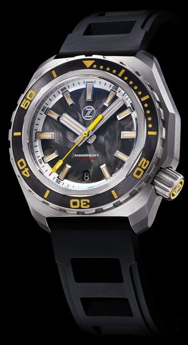 Zelos Hammerhead 2 Steel Forged Carbon ETA 2892