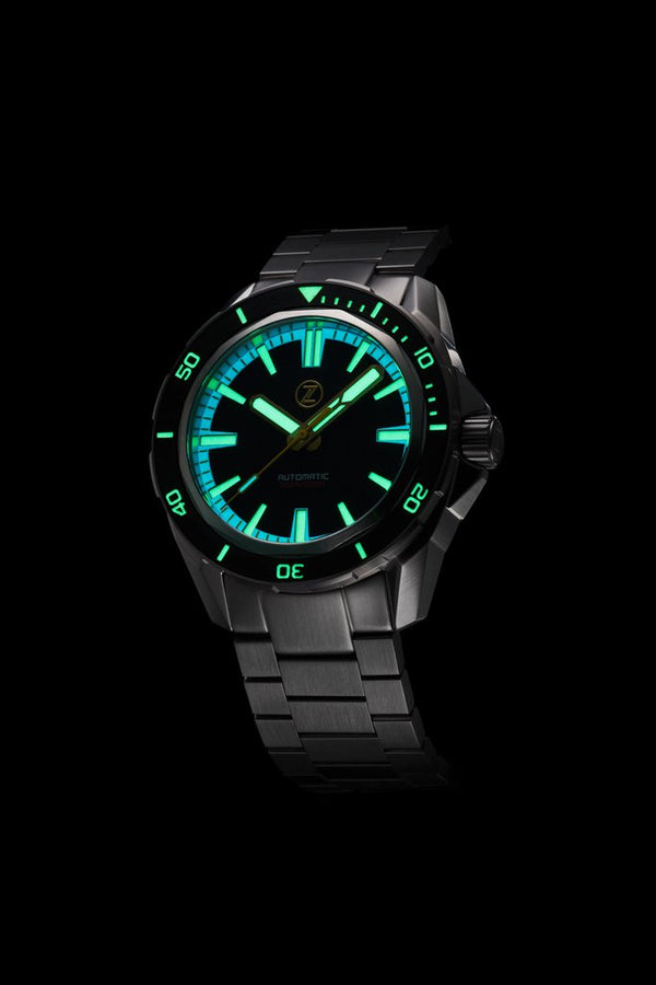 Zelos Swordfish Black Sand NH35