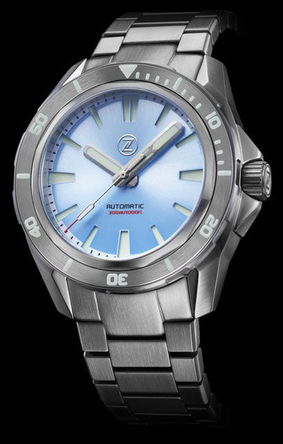 Zelos Swordfish Steel Ice Blue NH35