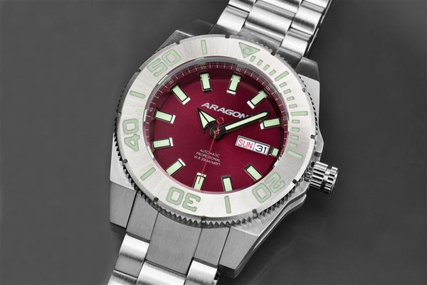 ARAGON Silverjet Automatic A043RED