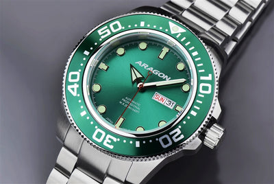ARAGON Divemaster Automatic 50mm A054GRN