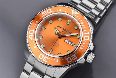 ARAGON Divemaster Automatic 50mm A054ORG