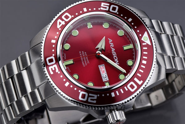 ARAGON Divemaster Automatic 50mm A054RED