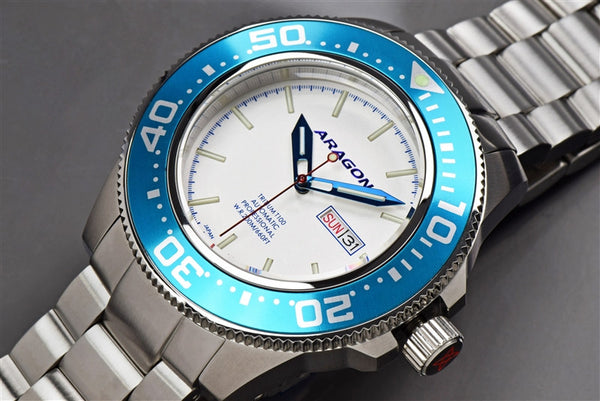 ARAGON Divemaster T100 Automatic 45mm A066SLV