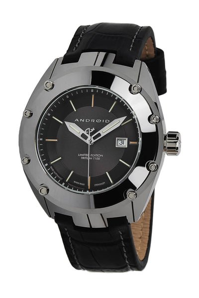 ANDROID Virtuoso Tungsten T100 Swiss Automatic LE AD622AK
