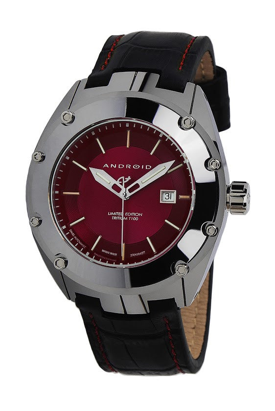 ANDROID Virtuoso Tungsten T100 Swiss Automatic LE AD622AR