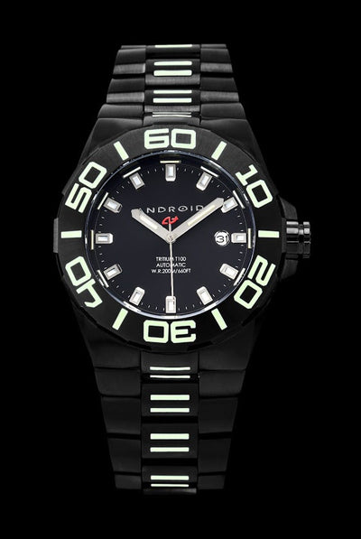ANDROID Bioluminescence 44mm T-100 Automatic AD672BKK