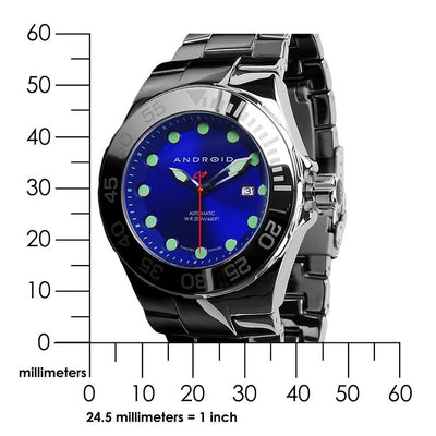 ANDROID Hercules Tungsten Automatic 44mm AD726ABU