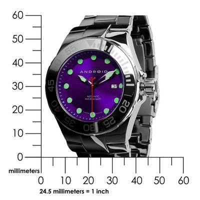 ANDROID Hercules Tungsten Automatic 44mm AD726APU