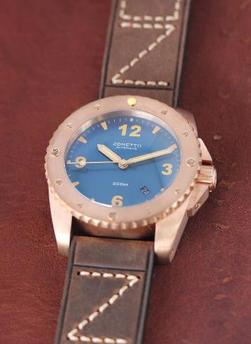 Zoretto Indy Blue Dial
