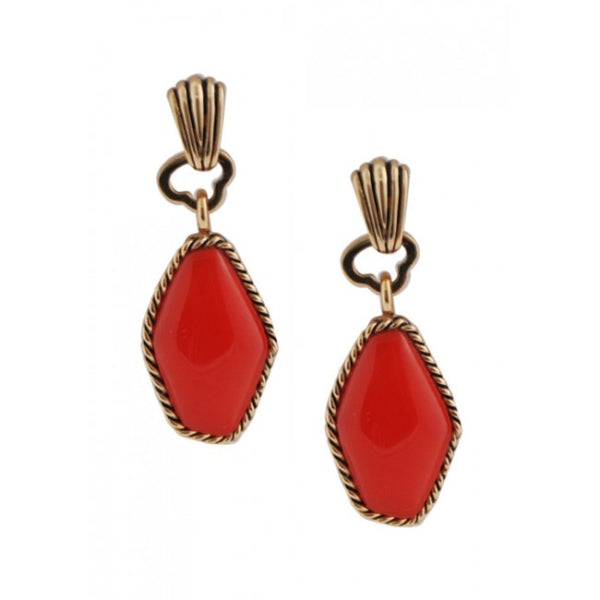 Barse Coral Brights Earring