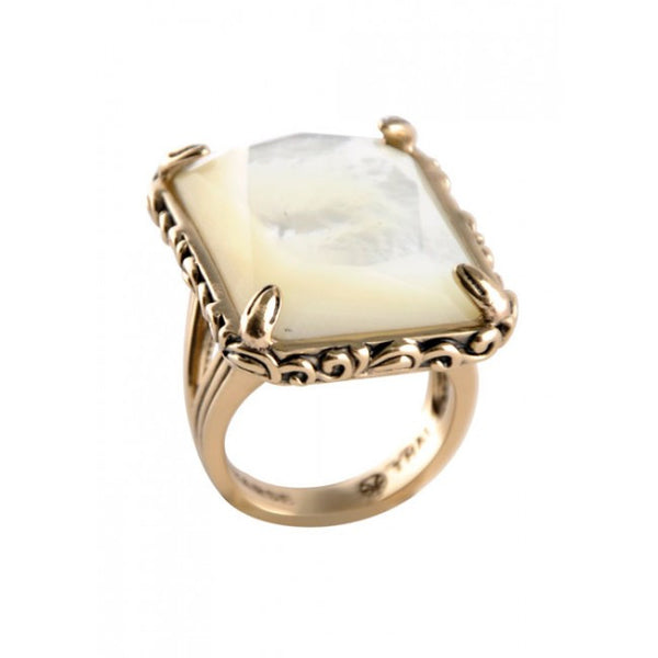 Barse Luminous Mother of Pearl Ring