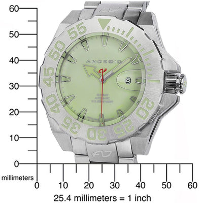 ANDROID Divemaster Silverjet 500 Automatic AD442BGR2