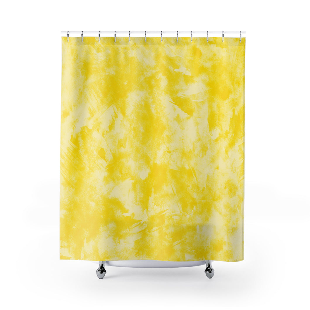 Yellow Shower Curtains Enonande