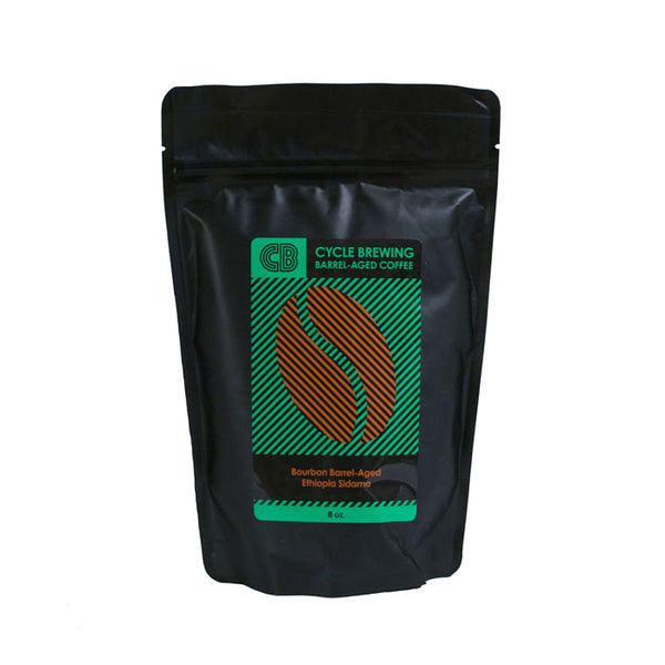 Bourbon Barrel-Aged Ethiopia Sidamo Coffee Beans