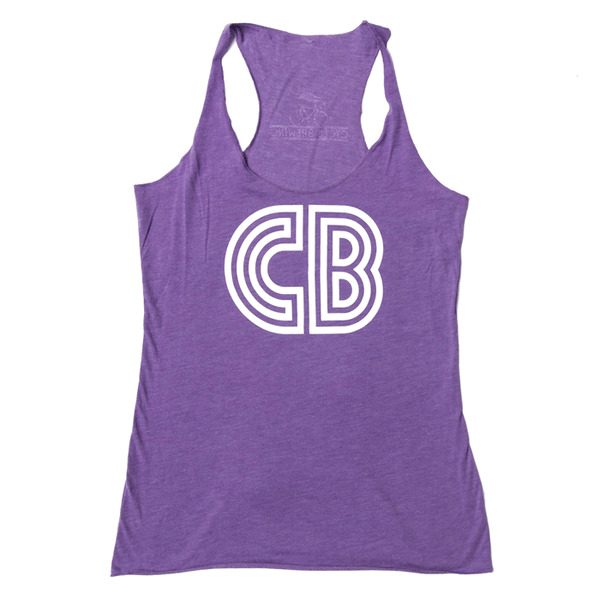 CB Logo Tank  | Women's Purple