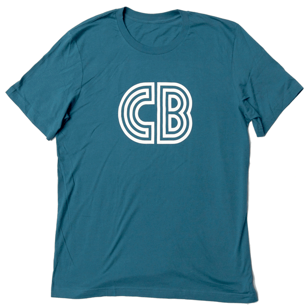 CB Logo T-Shirt  |  Men's Teal