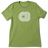 CB Logo T-Shirt  |  Men's Green