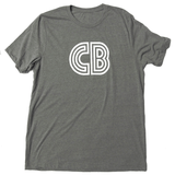 CB Logo T-Shirt  |  Men's Gray