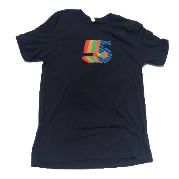 5th Anniversary T -Shirt  | Men's Black