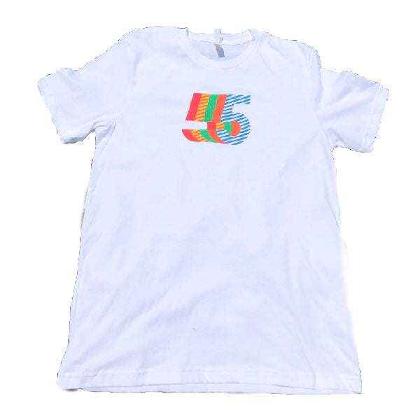 5th Anniversary T-Shirt  | Men's White