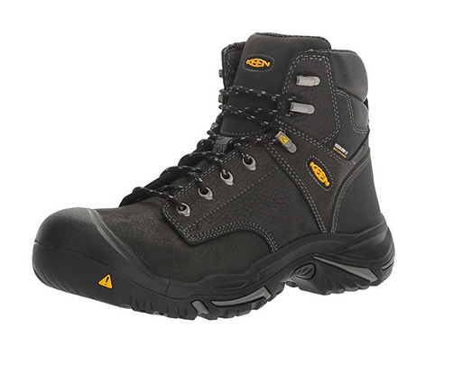 Men's Black Leather Mid Work Boot by KEEN Utility - Mt. Vernon Edition