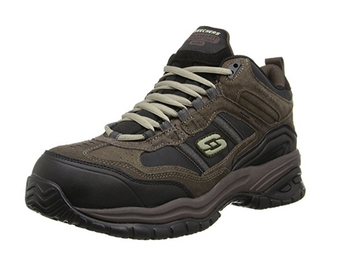 Men's Slip Resistant Work Shoe by Skechers