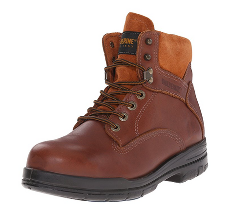 Men's Leather Steel Toe Work Boot by Wolverine