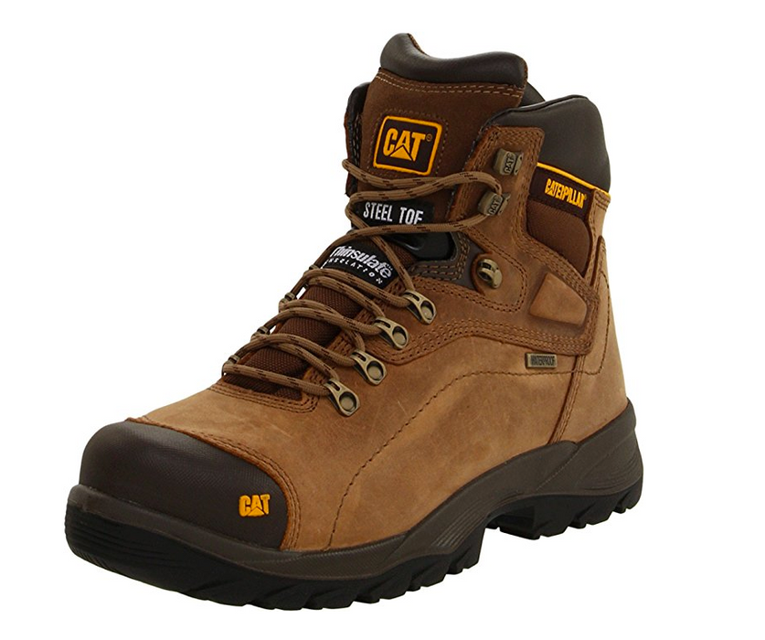 Men's Diagnostic Work Boot by Caterpillar - Steel-Toe, Waterproof