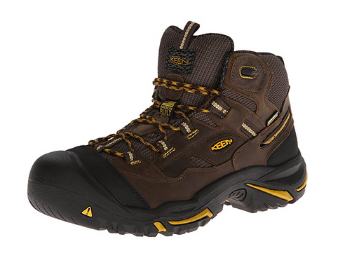 Men's Mid Steel Toe Work Boot by KEEN Utility - Braddock Edition