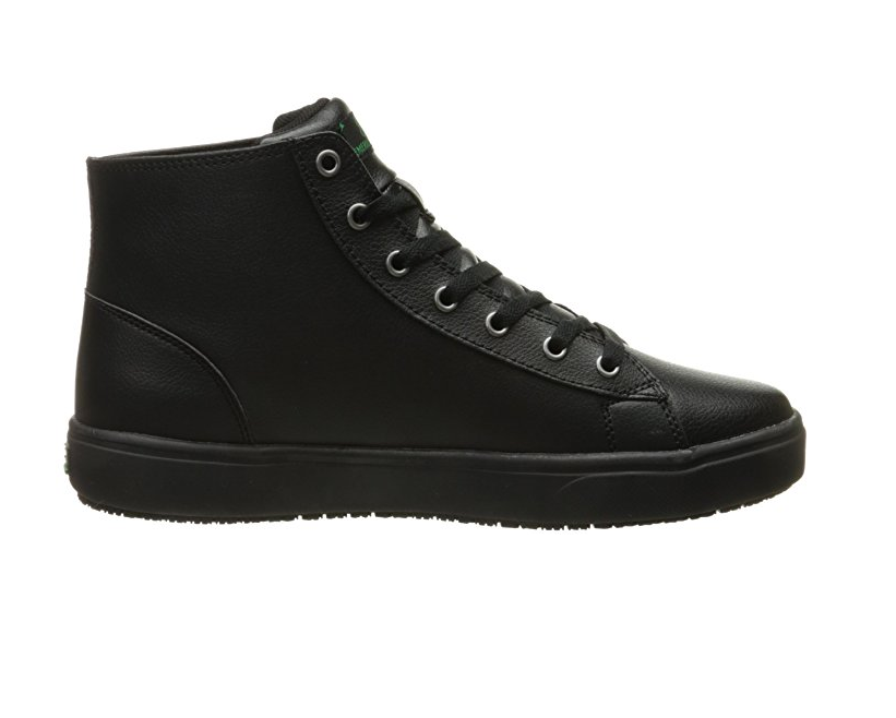 Black Leather High Top Waitress Shoes for Women by Emeril Lagasse