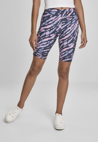 Ladies Tie Dye Cycling Shorts