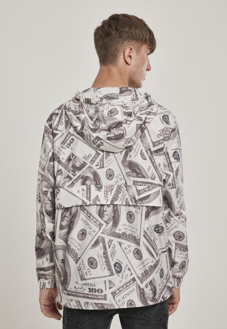 Mister Tee Dollar Windbreaker