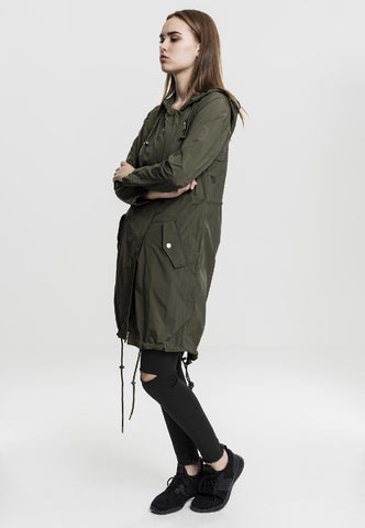 Ladies Asymetric Parka