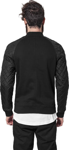 Diamond Nylon Sweatjacket