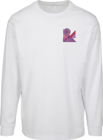 Ladies Abstract Colour Longsleeve