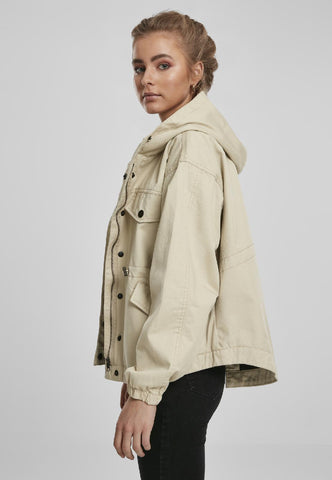 Ladies Oversized Parka Jacket