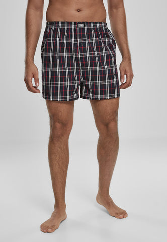 Woven Plaid Boxer Shorts 2-Pack