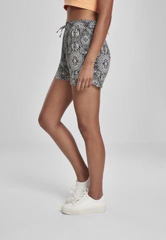 Ladies AOP Viscose Resort Shorts