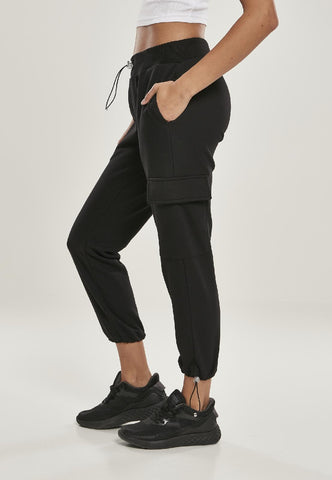 Ladies Cargo Terry Pants