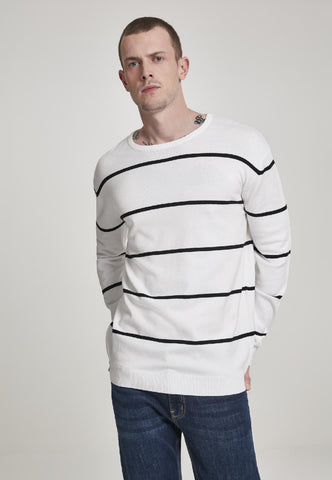 Line Striped Sweater