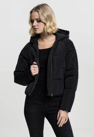 Copy of Ladies Hooded Oversized Puffer Jacket A