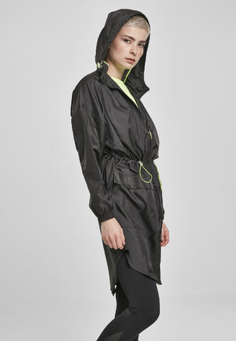 Ladies Transparent Light Parka